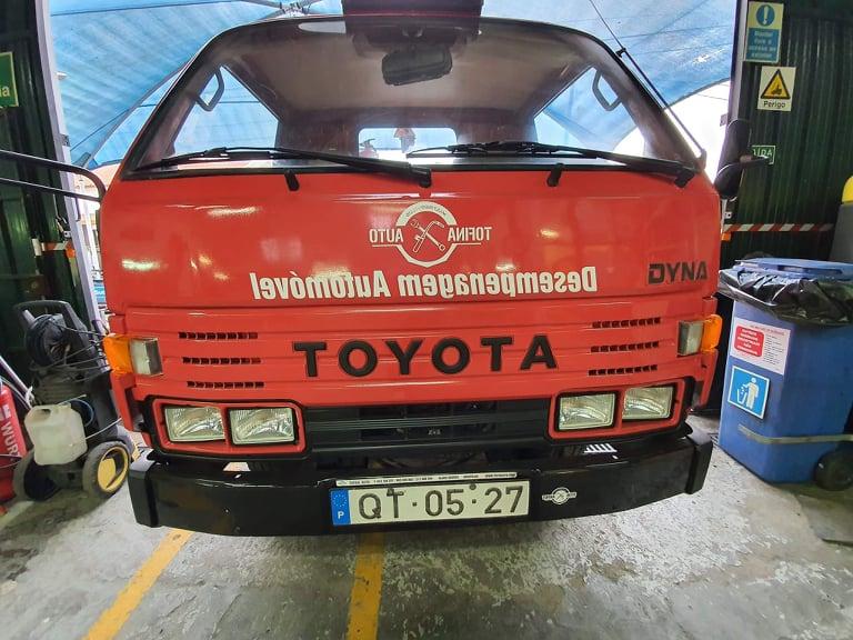 Pronto Socorro Toyota Dyna Usado 5